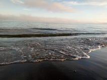 海和波浪 库存图片