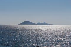 海和海岛 库存照片