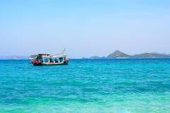 海和海洋在泰国 免版税库存图片