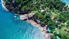 海和海滩 免版税库存图片