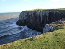 海和石头 免版税库存图片