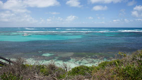 海和风帆:Rottnest海岛 免版税库存照片