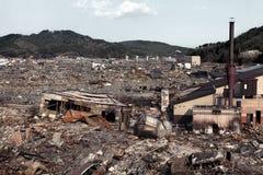 海啸日本2011年福岛 库存照片
