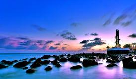 海啸Memorandon在马尔代夫 库存图片