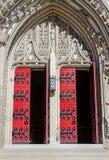 海因茨教堂门打开 库存照片
