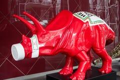 海因茨番茄酱恐龙 免版税库存图片