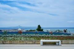 海在冲绳岛 免版税图库摄影