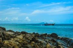 海在泰国 库存图片