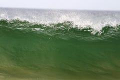 海在澳大利亚挥动 库存图片