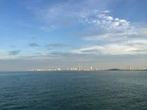 海在芭达亚泰国 免版税库存图片