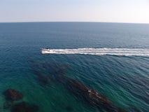 海在黑山 免版税图库摄影