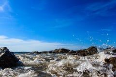 海在Phang Nga,泰国 库存照片