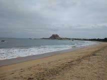 海在yala国家公园 库存照片