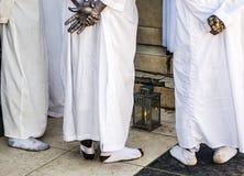 海地人Vodou祷告 图库摄影