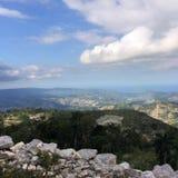 海地山 库存照片