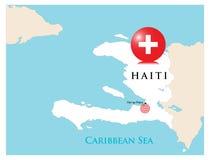 海地帮助 免版税库存图片