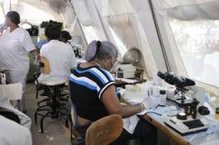 海地的医院。 免版税库存图片