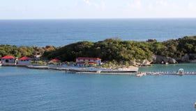 海地labadee 免版税图库摄影