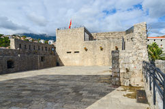 海堡垒(长处母马),老镇,新海尔采格,黑山 免版税图库摄影