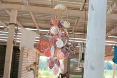 海壳装饰 免版税库存图片