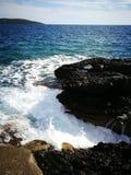 海太阳夏天 库存照片