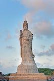 海女神马祖的雕象 库存图片