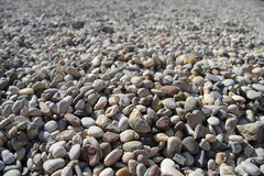 海小卵石 免版税库存图片