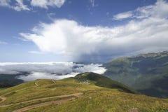 黑海山在土耳其 免版税图库摄影