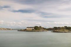 海岛一点 免版税库存照片