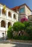 海岛修道院samos stavros timios 库存图片