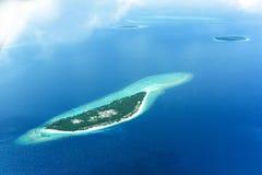海岛假日目的地 免版税库存图片