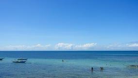 海岛儿童使用 库存照片