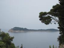海岛克罗地亚 库存图片
