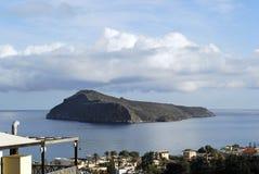 海岛冬天 库存图片