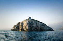海岛别墅 库存照片