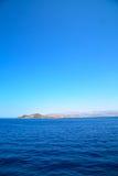 从海岛和天空的希腊 免版税图库摄影