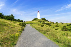 海岛因塞尔希登塞在德国 免版税图库摄影