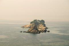 海岛圣周在黑山 库存图片