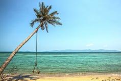 海岛在东南亚 库存照片