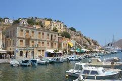 海岛在希腊 免版税图库摄影