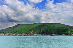 海岛在海在泰国 库存图片