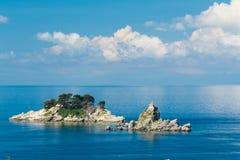 海岛在海 免版税图库摄影