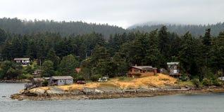 海岛在温哥华,加拿大 免版税库存图片