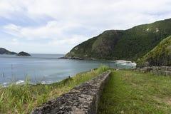 海岛在里约热内卢,巴西 免版税图库摄影
