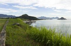 海岛在里约热内卢,巴西 免版税库存图片
