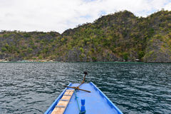 海岛在Busuanga 库存照片