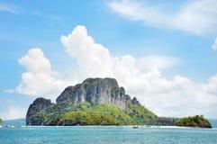 海岛在Krabi泰国 图库摄影