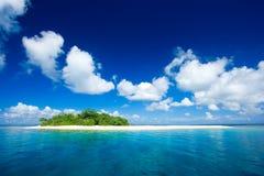 海岛天堂热带假期 库存图片