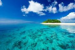 海岛天堂热带假期 库存照片