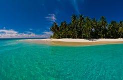 海岛天堂 库存图片